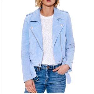 Blue suede blanknyc jacket